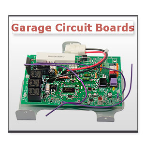 Garage Openers Control Circuit Boards