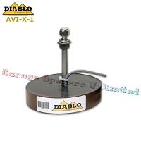 Diablo Controls AVI-X-1 Transmitter Single Code Hands-Free Automatic Vehicle