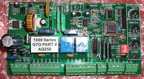 Gto Aq250 Pc Board Gto Pro Circuit Control Board Aq250 Pro