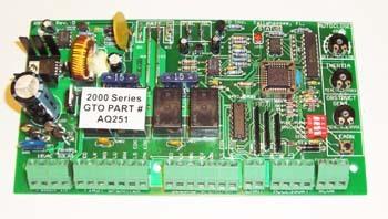 gto aq251 pc board gto pro circuit control board aq251 rh gateopenersunlimited com Furnace Control Board HVAC Control Board