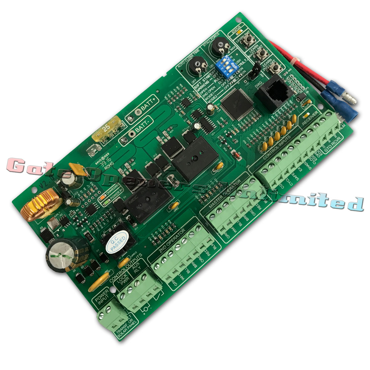 mighty mule r4211 circuit board, mighty mule replacement control