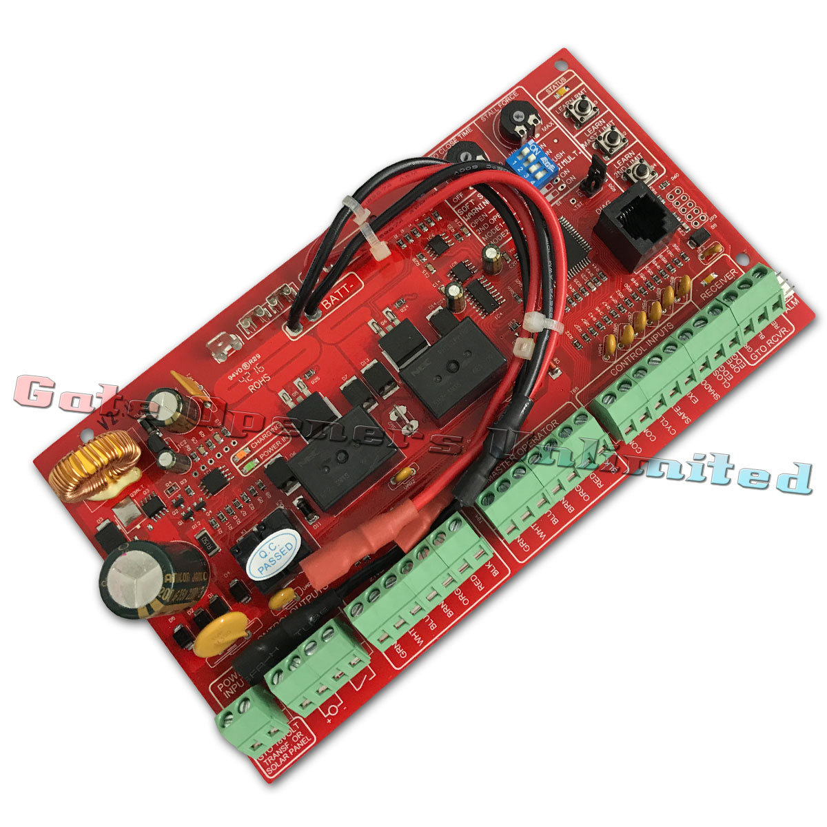 Mighty Mule Fm500 Main Control Circuit Board R4211 For