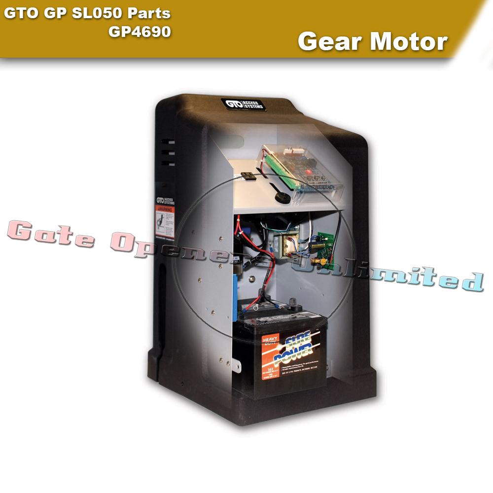 Gto Gp Sl050 Parts Gp4690 Gear Motor Assembly For Gp Sl050