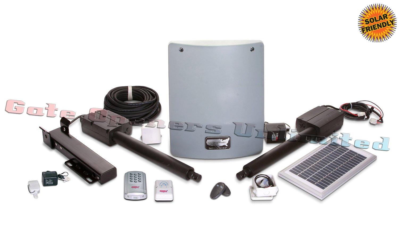 Sentry m solar automatic gate opener deluxe kit
