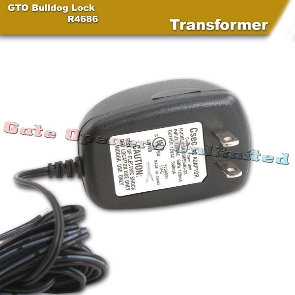 Gto R4686 Mighty Mule Bulldog Transformer 12vac 500ma Gate