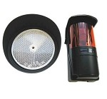 BFT Photo Eye for Gate System - IR Polarized Reflective Photocell with Hood.
