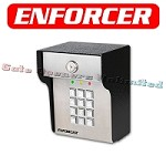 Enforcer EFR-SK-3523-SDQ Heavy Duty Stand Alone Keypad, 210 Users, 2 relay outputs, surface mount