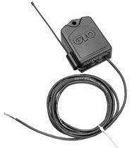 GTO AQ202-NB Narrow Band Receiver - 20 Feet  Cable (Grey)