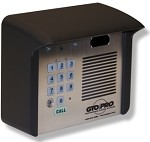 gto f3100mbc wireless intercom system entry gate intercom w keypad. Black Bedroom Furniture Sets. Home Design Ideas