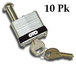 GTO FM345KA 10pk Secuirty Pin Lock for All GTO Gate Opener Models