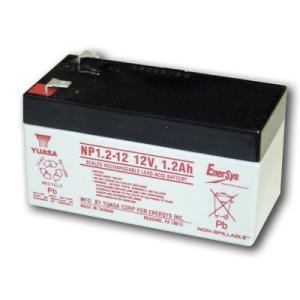GTO RB422 Battery - 12 Volt - 1.2 Amp Hr.