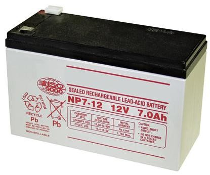 GTO RB500 Battery - 12 Volt - 7.0 Amp Hr.