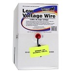 GTO RB509-100 Low Voltage Wire - 16 Gauage - Dual Stranded - per foot (100 Feet Roll)