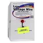 GTO RB509-500 Low Voltage Wire - 16 Gauage - Dual Stranded - per foot (500 Feet Roll)
