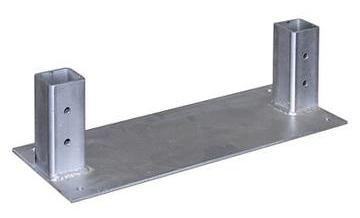 GTO SGMP Mounting Pad for DC Slide Operators - Concrete Mount