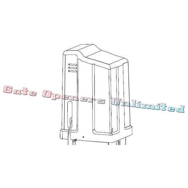 GTO GP SL100 Parts GP4256 GP-SL Cover w Labels