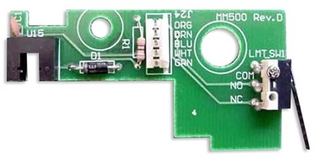 GTO 1500 Parts -  RVCTBD50 Rev Counter Board