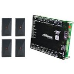 Linear ACM4DB, 620-100272 eMerge Elite 4-Door w/ 4-Reader Bundle Access Control