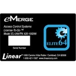 Linear EL-U64, 620-100266 eMerge Elite-36 Upgrade License to Elite-64