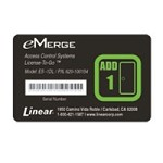 Linear ES-1DL, 620-100154 eMerge Essential 1-Door & 2-Reader Addition License