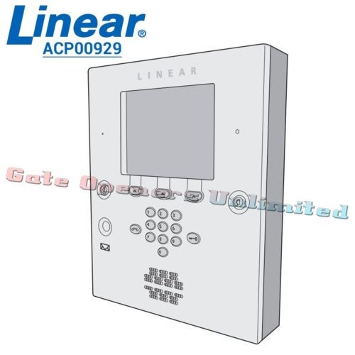 Linear Acp00929 Ae2000 Plus Front Door Assy