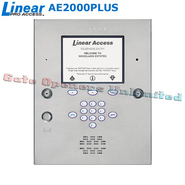 Linear Acp00952 Ae2000plus Commercial Telephone Entry