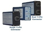 RENO AX2DL-8-1C-S-NO, 2-Channel Loop Detector W/ Directional Logic, 1-Connector - 240VAC - Normally Open - Fail Secure