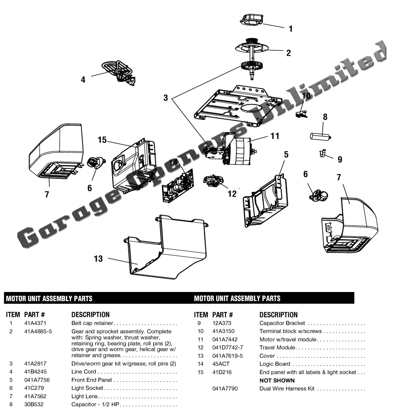 Liftmaster 8355 Garage Door Opener Replacement Parts Diagram Large old garage door opener parts btca info examples doors designs liftmaster garage door opener wiring diagram at gsmx.co