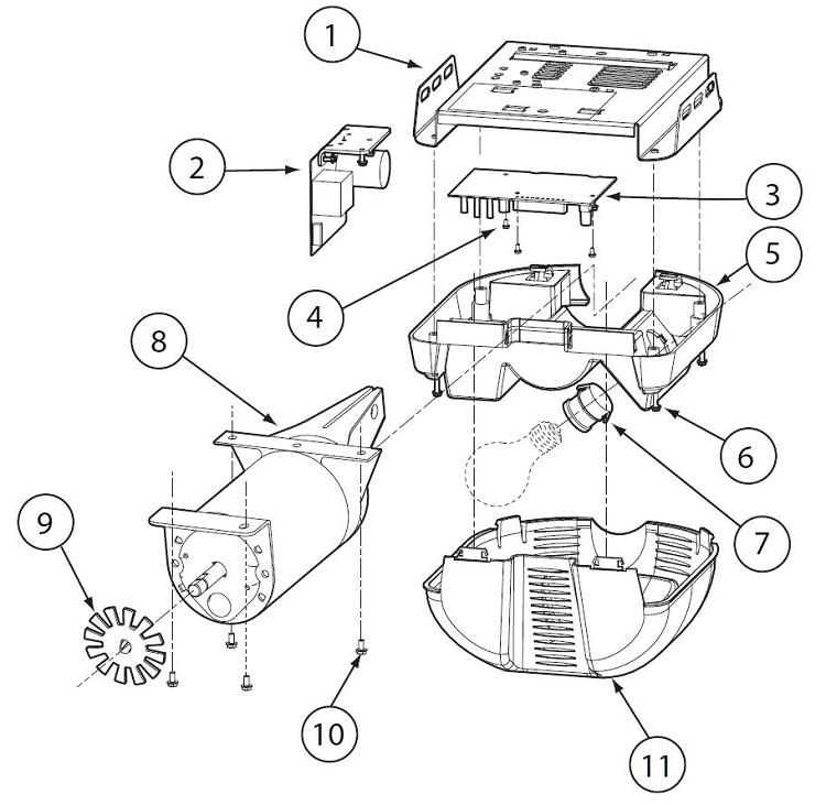 genie 34147a s force adjustment shaft