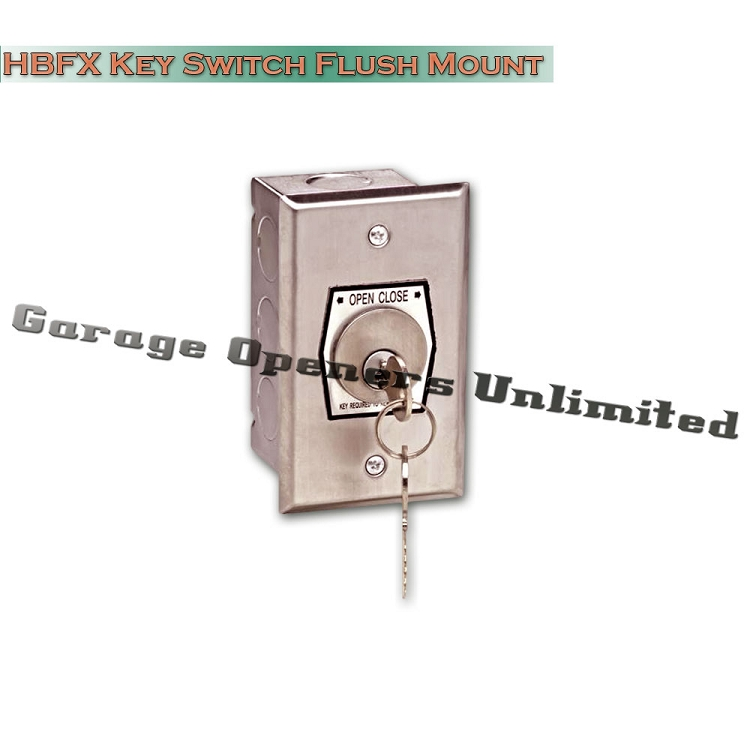 Garage Door External Key Switch Garage Door Ideas