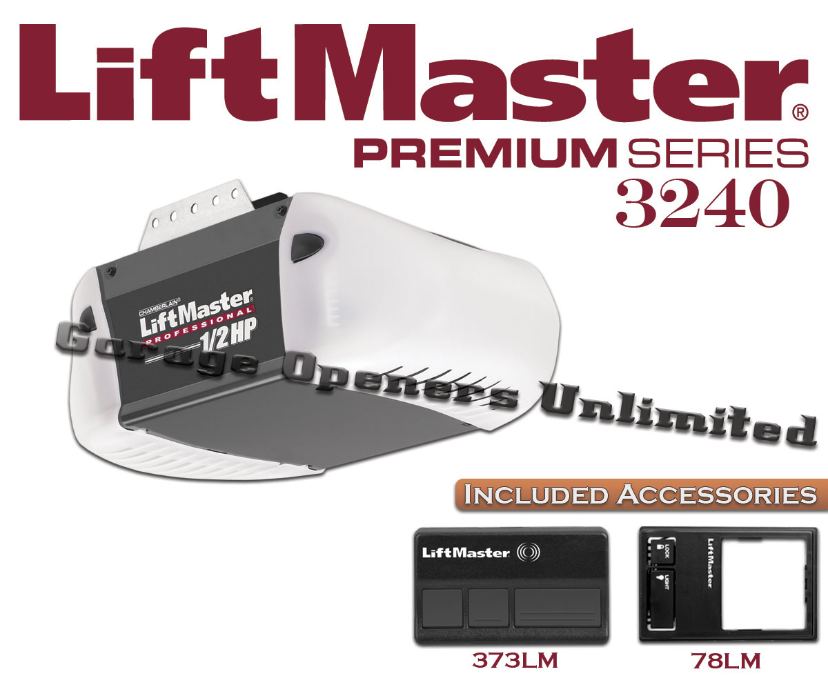 Liftmaster 3240 Premium Series 1 2 Hp Screw Drive