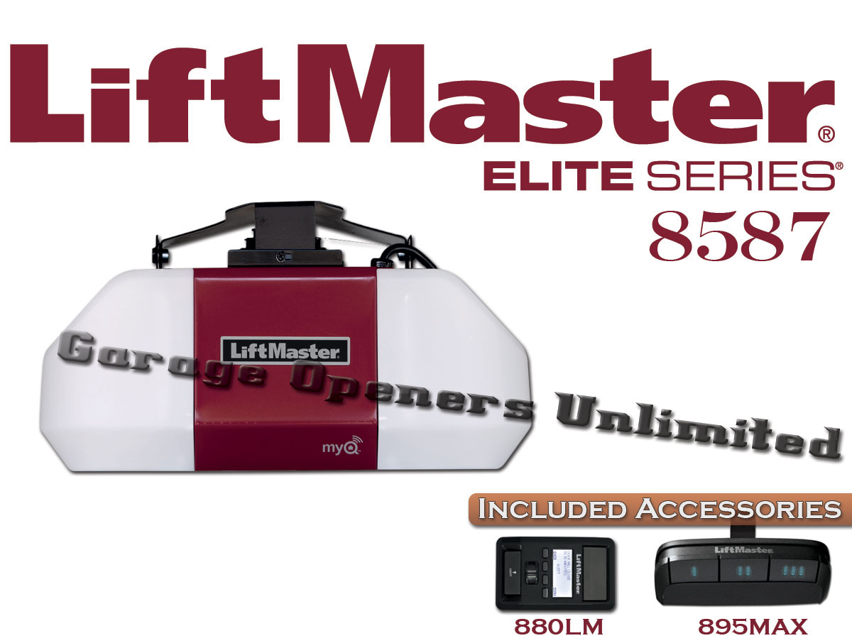 Liftmaster 8587 Elite Series 3 4 Hp Ac Chain Drive Hysecurity Wiring Diagram