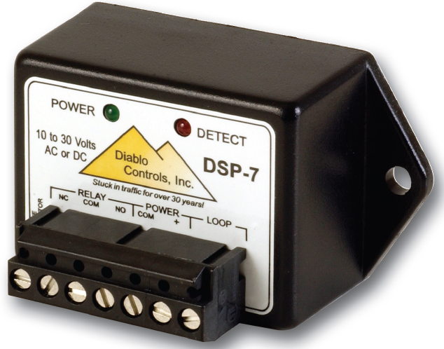Diablo Controls Dsp 7lp Microdetector Vehicle Loop Detector