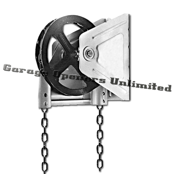PH-9013-6 Chain Hoist #6 Wall Mounted 41B60 Sprocket 48""