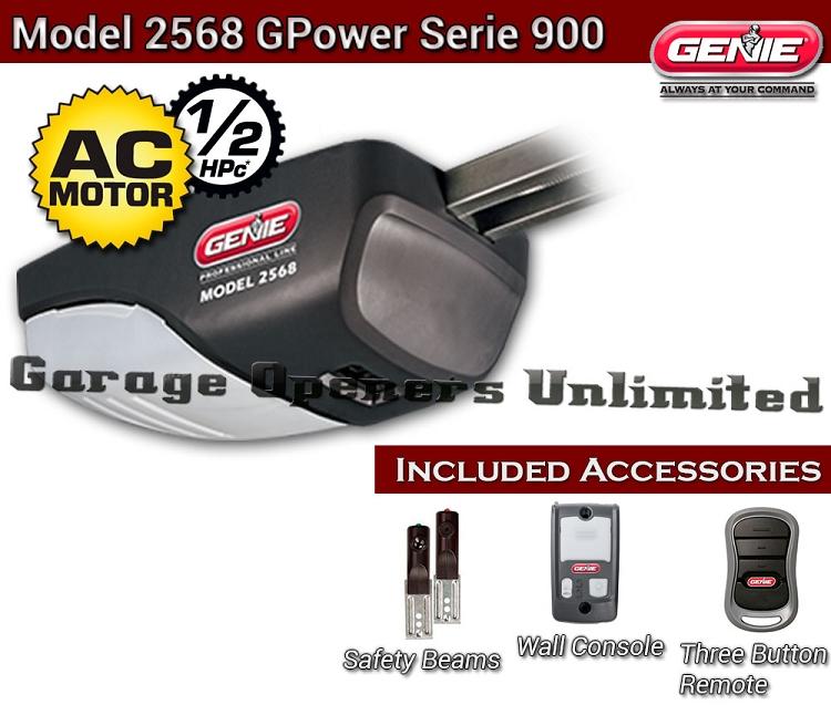 Genie 2568 AC Screw Drive Garage Operator