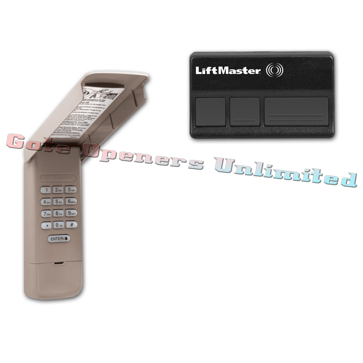 Liftmaster ACKIT 315Mhz Pack (1) 373LM Remotes & (1 ...