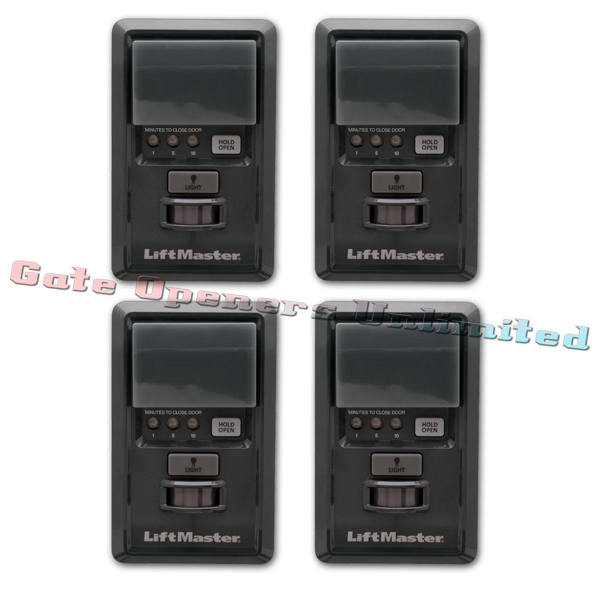 Liftmaster 881lm 4 Pack Motion Detecting Control Panel
