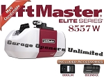 Liftmaster 8557W - Elite Series 8557W 3/4 HP AC Belt Drive Wi-FI Garage Door Opener