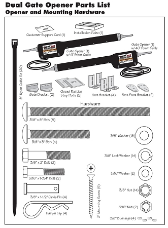 Mighty Mule Fm502 Dual Opener Kit 502 For Heavy Duty. Mighty Mule Fm502 Opener Kit For Dual Swing Gates Up To 18 Feet Or 850 Lbs Per Leaf. Wiring. Gto 502 Wiring Diagram At Scoala.co