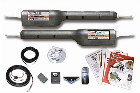 Mighty Mule FM352 Opener Kit for Dual Swing Gates - up to 16 feet or 550  lbs - per leaf