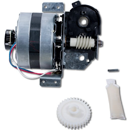 Liftmaster 41C4842-2 - Universal replacement motor & bracket assembly. Complete with: Motor, worm, bracket, gear case bearing assembly, RPM sensor.