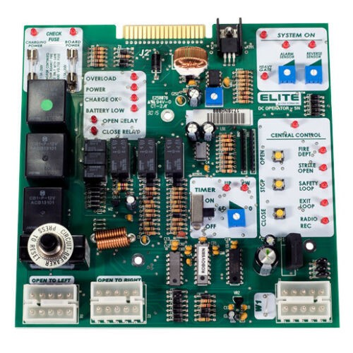 Liftmaster K001A5867 Logic Control Board Replacement Kit Mega Swing & Slide Q206