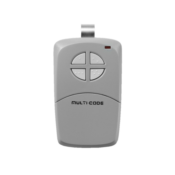 Linear MCS414001 MultiCode 300MHz 4-Channel Visor Remote Control Transmitter