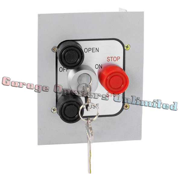 MMTC 3BFLX-BC Exterior Three Button Best Cylinder Equivalent Lockout Control