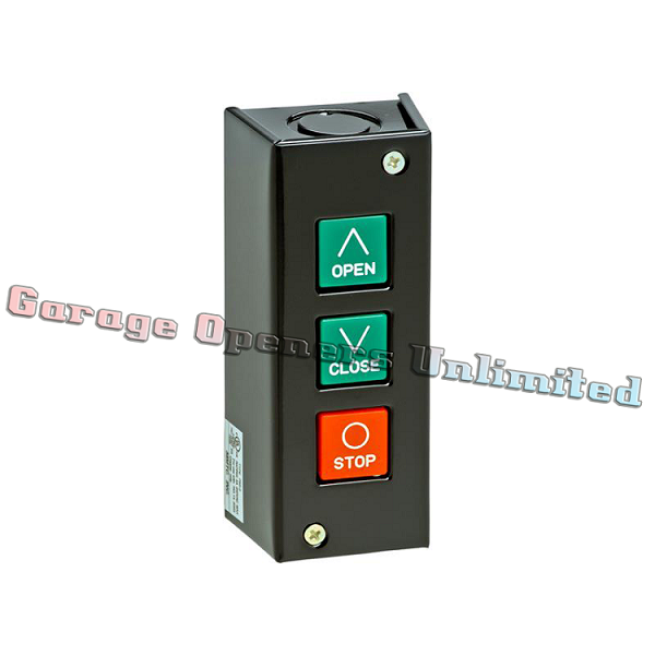 MMTC PBS-3R NEMA 1 Three Button Interior Surface Mount Control Station Contact