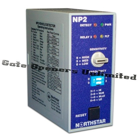 NorthStar Loop Detector - NP2-240 Single Channel - Dual Relay Vehicle Detector