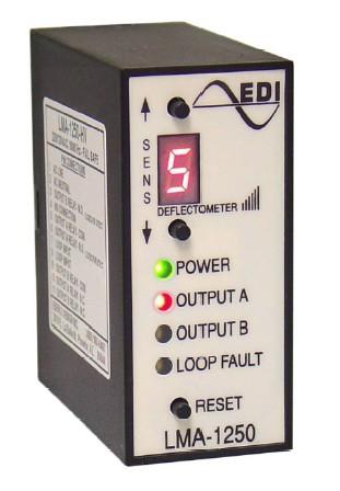 EDI LMA-1250S-LV Loop Detector (12Vdc, 24Vdc, & 24Vac) Fail Secure on