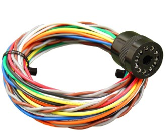 BASE LMH6-11 Heavy Duty Connecting Harness - Designed for All 11-Pin  Box  Type Vehicle Detectors