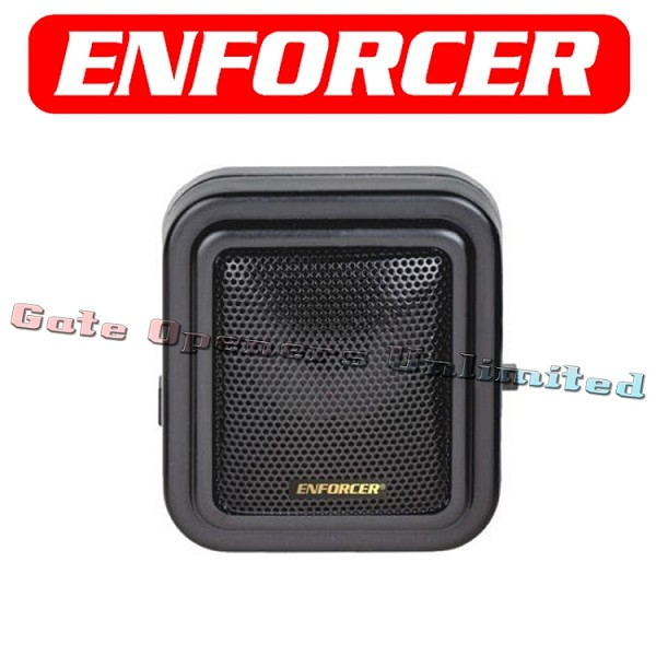 SECO-LARM Enforcer EFR-E-931ACC-SQ Extra Wired Speaker for E-931CS22RRCQ only