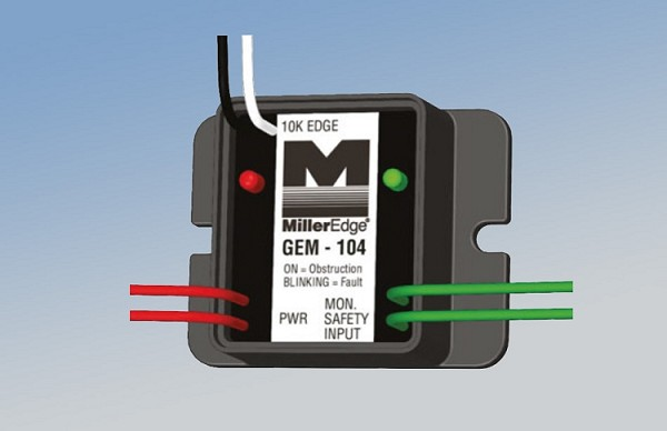 Miller Edge GEM-103 Gate Edge Module, 4-Wire Pulsed Converts 10K to Monitored